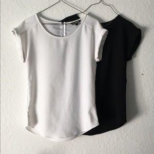 Women's EXPRESS Black & White Bundle Top Size XS